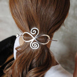 Hair Pin Barrette for all hair textures: Locs, Curls and Natural Hair