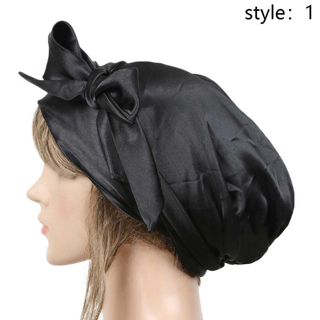 Super Comfi Satin Bonnet for Braids, Locs, Extensions, weaves and curly hair