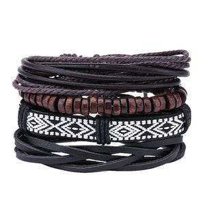 Fashionable Leather Bracelets in different designs
