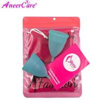 Comfortable Menstrual Cup made from Medical Silicone 2 pcs