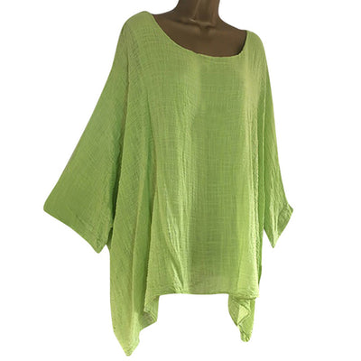 Stylish Long Sleeve Blouse Tunic for small and plus size women
