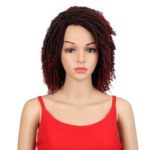 Single twist coils Wigs