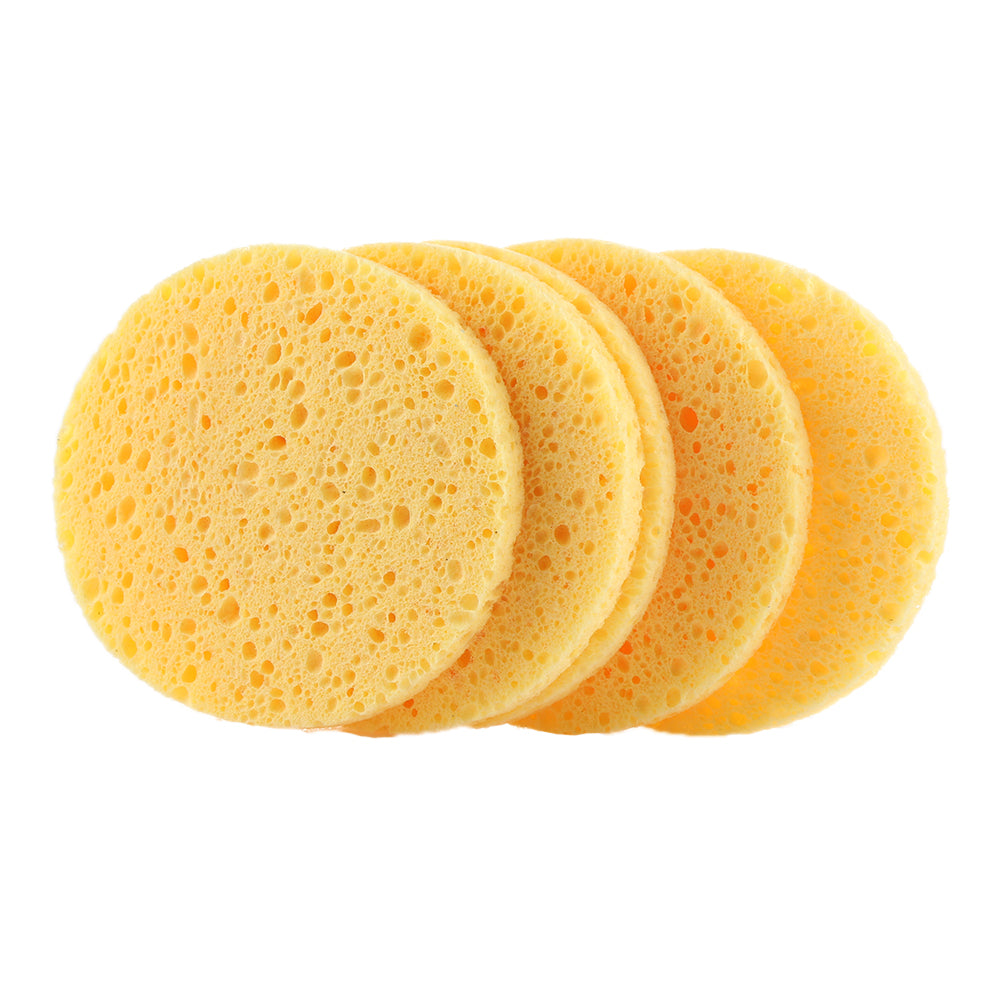 Super soft Cellulose Sponge to remove makeup and deep cleanses face