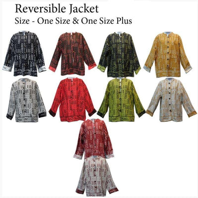 Reversible Jacket - assorted colors