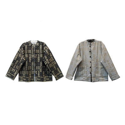 Reversible Jacket - White Gold