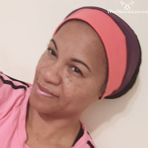 Sports Headband for Braids, Locs, Afros and big hair