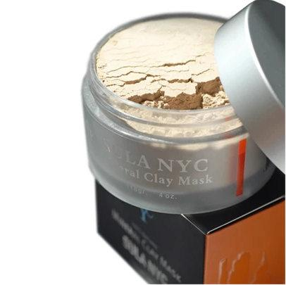 MINERAL CLAY MASK to Clear Acne and Remove Dark Spots