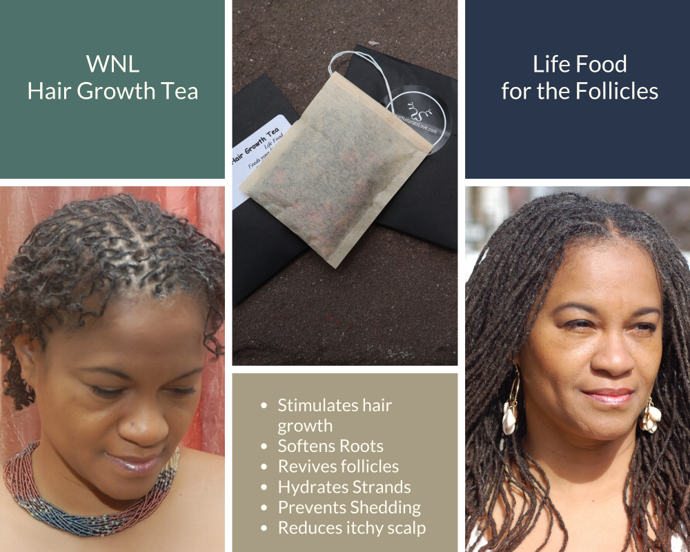 What Naturals Love Hair Growth Tea