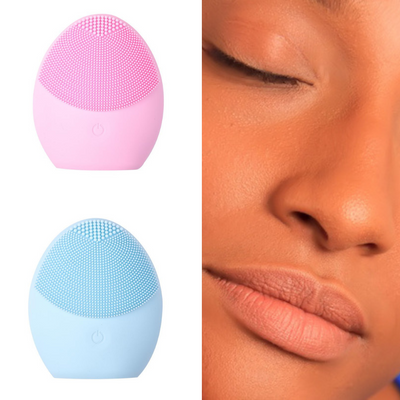 Ultrasonic 3-in-1 Face Cleansing Massager Brush