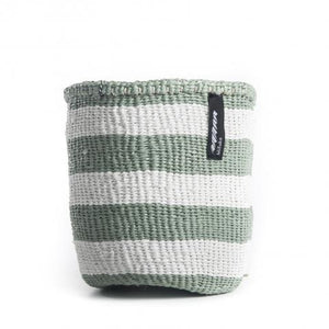 Thick stripe light green & white, XS - GARIAN Hong Kong