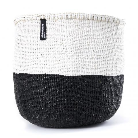 Black and White 50/50 Basket | Garian