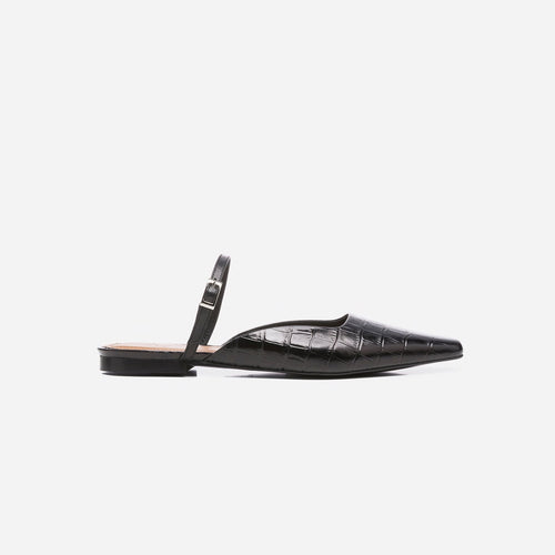 Dolores Black Croco Leather | Garian