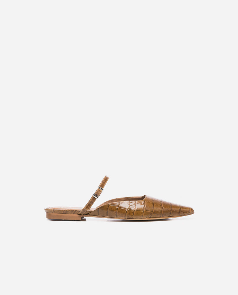 Dolores Cognac Croco Leather | Garian