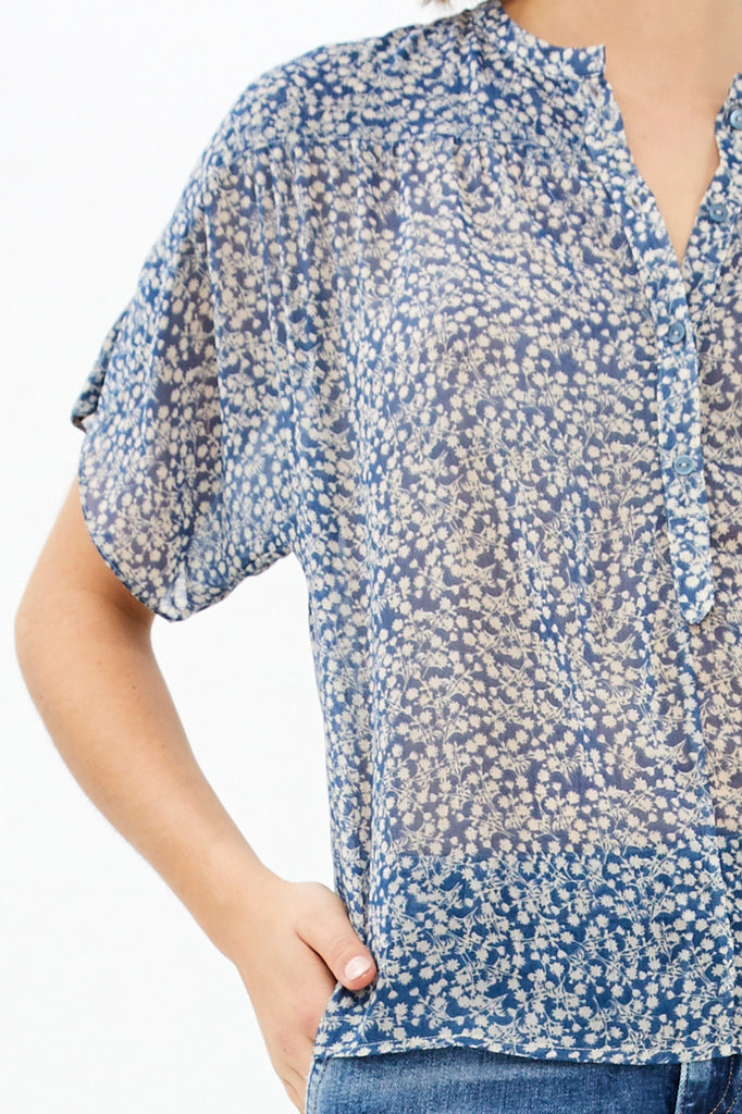 By-Bar Bo Blouse Flower Shirt | Garian
