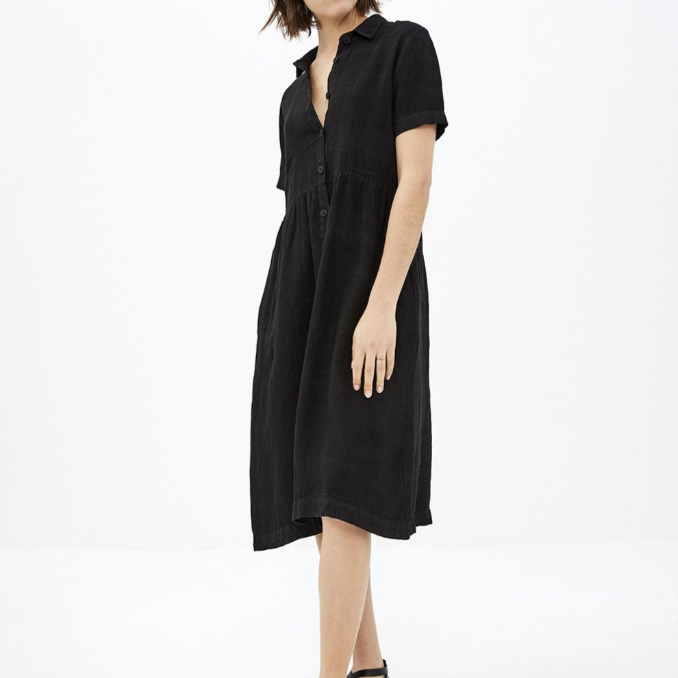 By-Bar Terry Linen Dress | Garian
