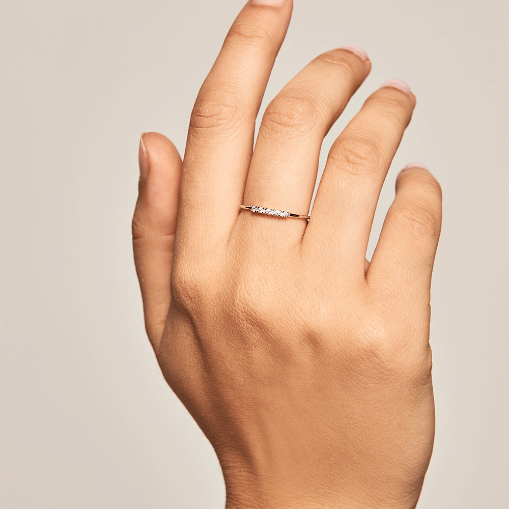 Misty Silver Ring | Garian