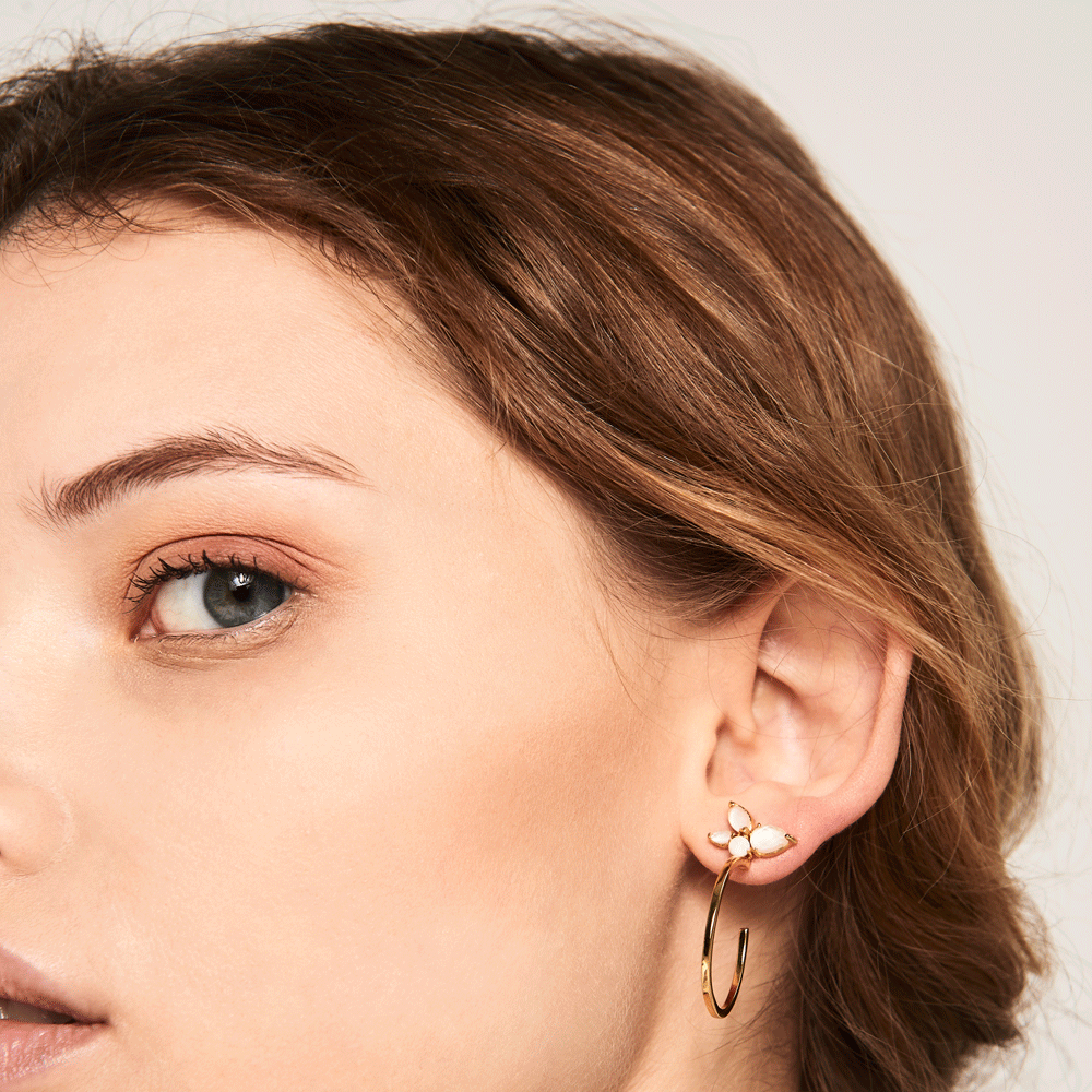 Lima Gold Earrings | Garian