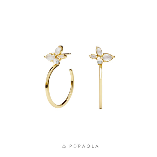 Lima Gold Earrings - GARIAN Hong Kong