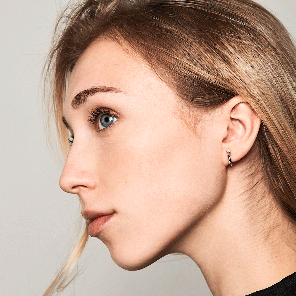 Anne Silver Earrings | Garian