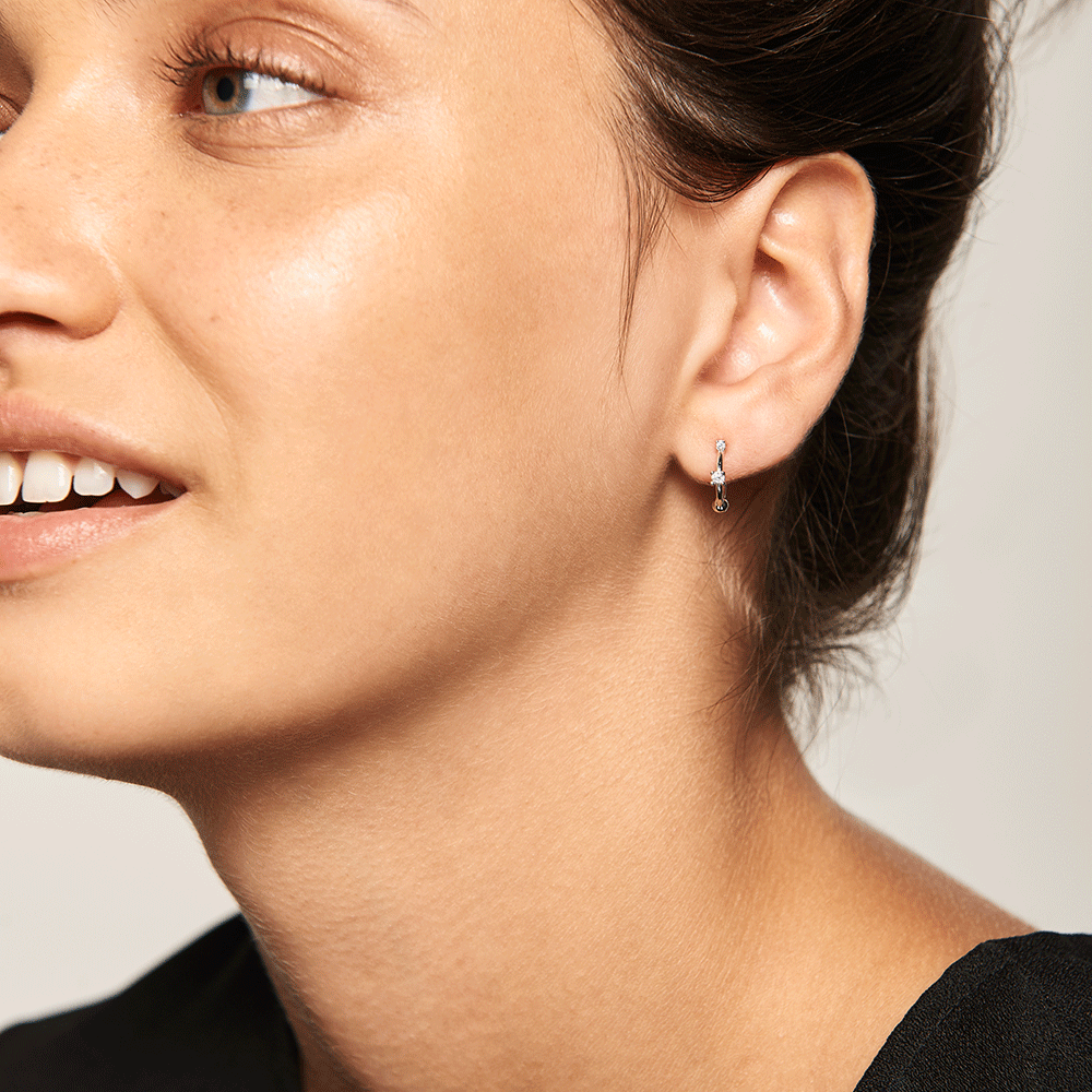 Kaya Silver Earrings | Garian