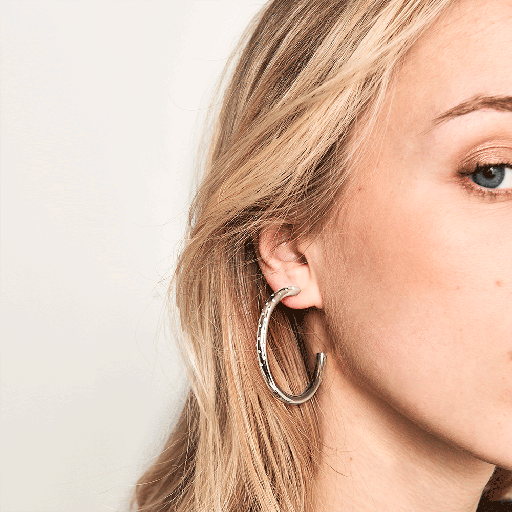 Audrey Silver Earrings | Garian