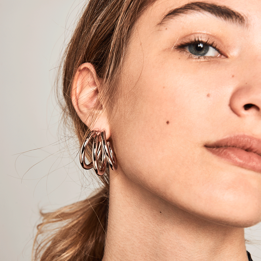 True Rose Gold Earrings | Garian