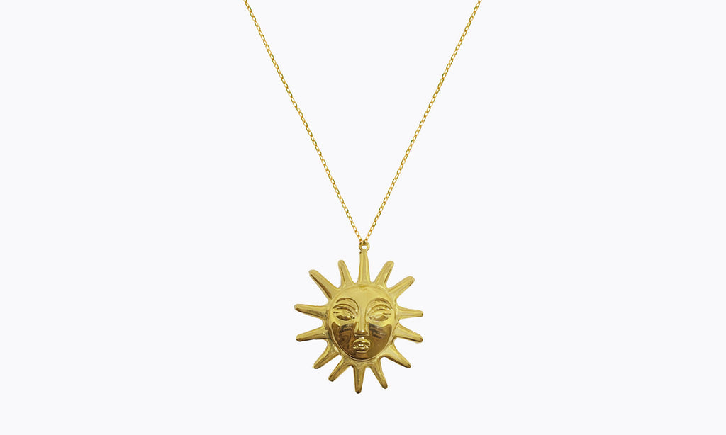 Amadora Sun Necklace | Garian