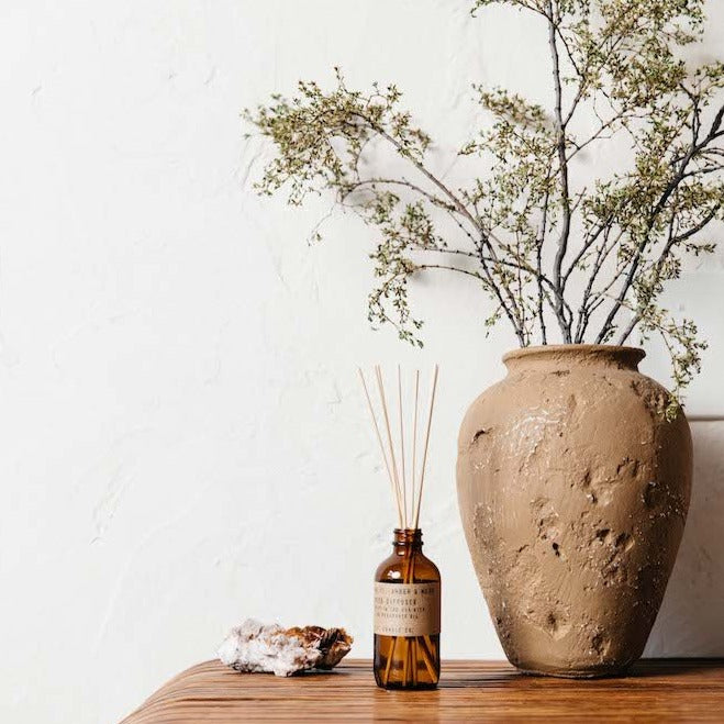 Amber & Moss Reed Diffuser | Garian