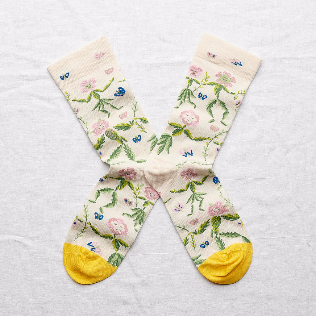 Bonne Maison Socks Natural Dance | Garian
