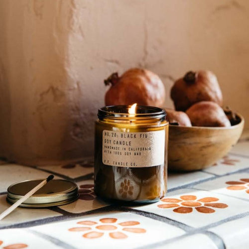 Black Fig Standard Soy Candle