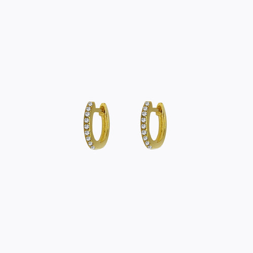 Braga Pave Hoop Earrings