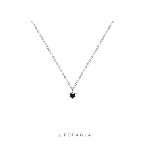 Black Holiday Silver Necklace - GARIAN Hong Kong