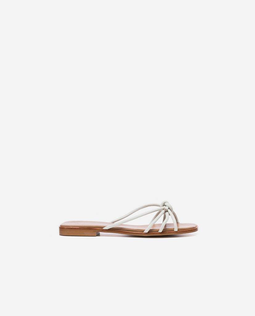 Yvette Off White Leather | Garian