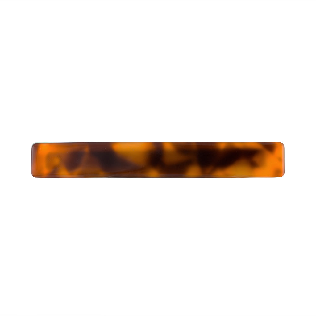 Slim Hair Clip in Amber | Garian