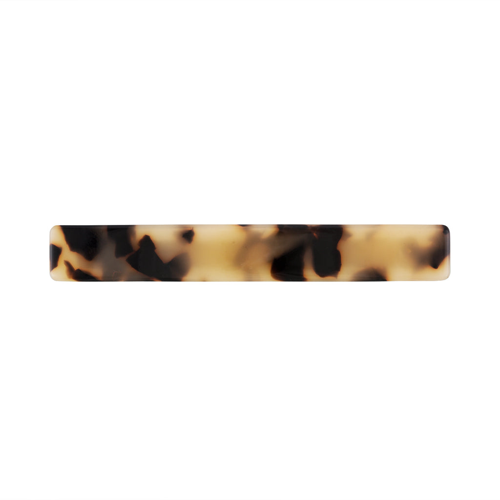 Slim Hair Clip in Blonde Tortoise | Garian
