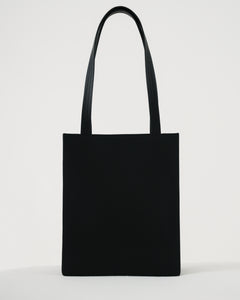 Medium Leather Retail Tote - Black - GARIAN Hong Kong
