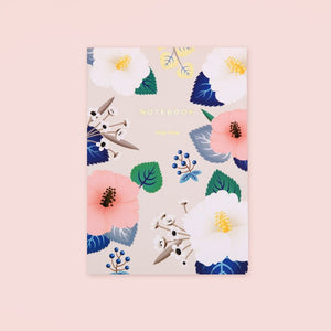 Hibiscus Notebook - Ivory | Garian