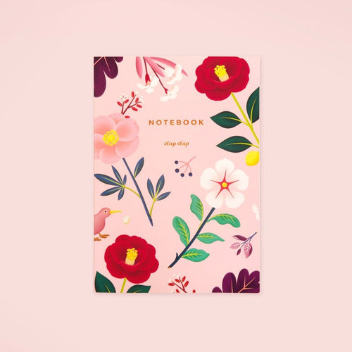 Garden Bloom Notebook - Blush - GARIAN Hong Kong