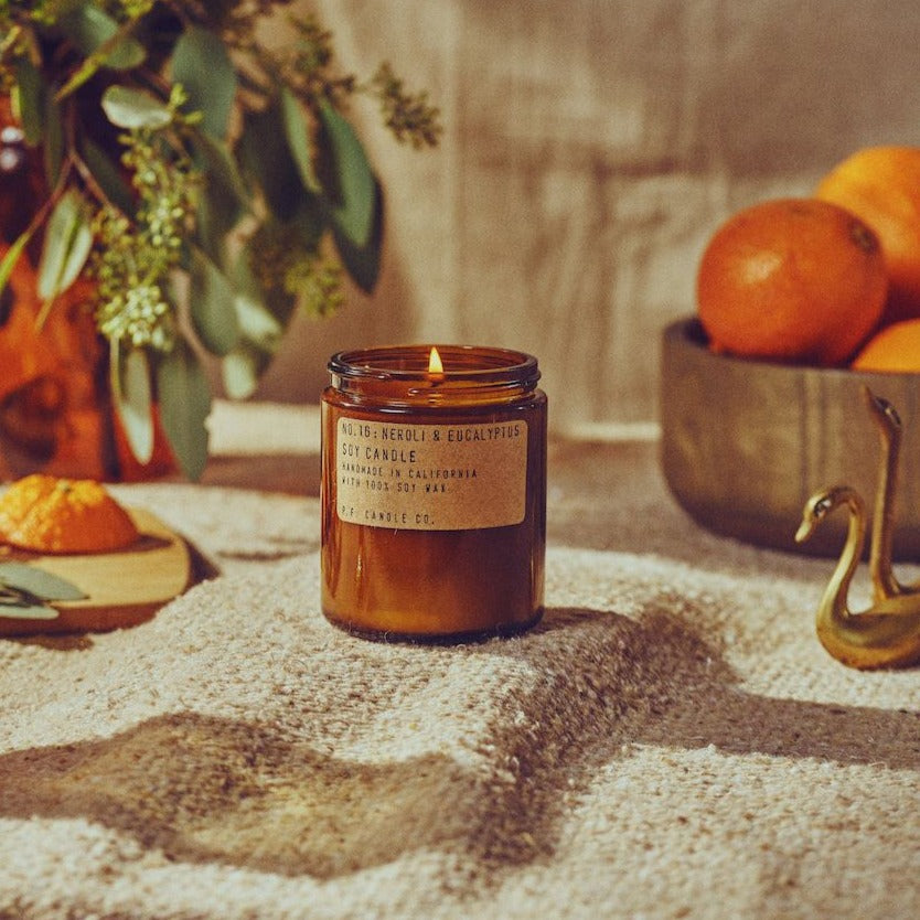 Neroli and Eucalyptus Standard Soy Candle | Garian