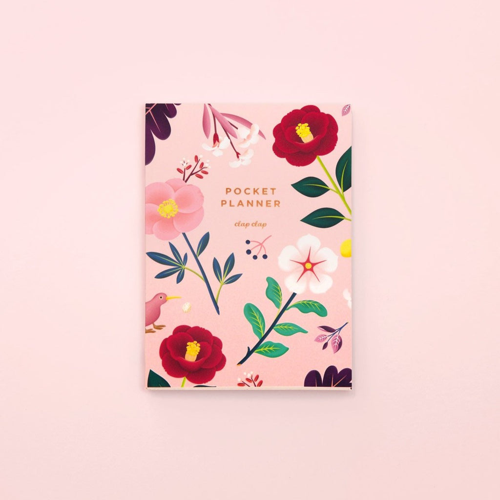 Botanical Pocket Planner - Blush | Garian