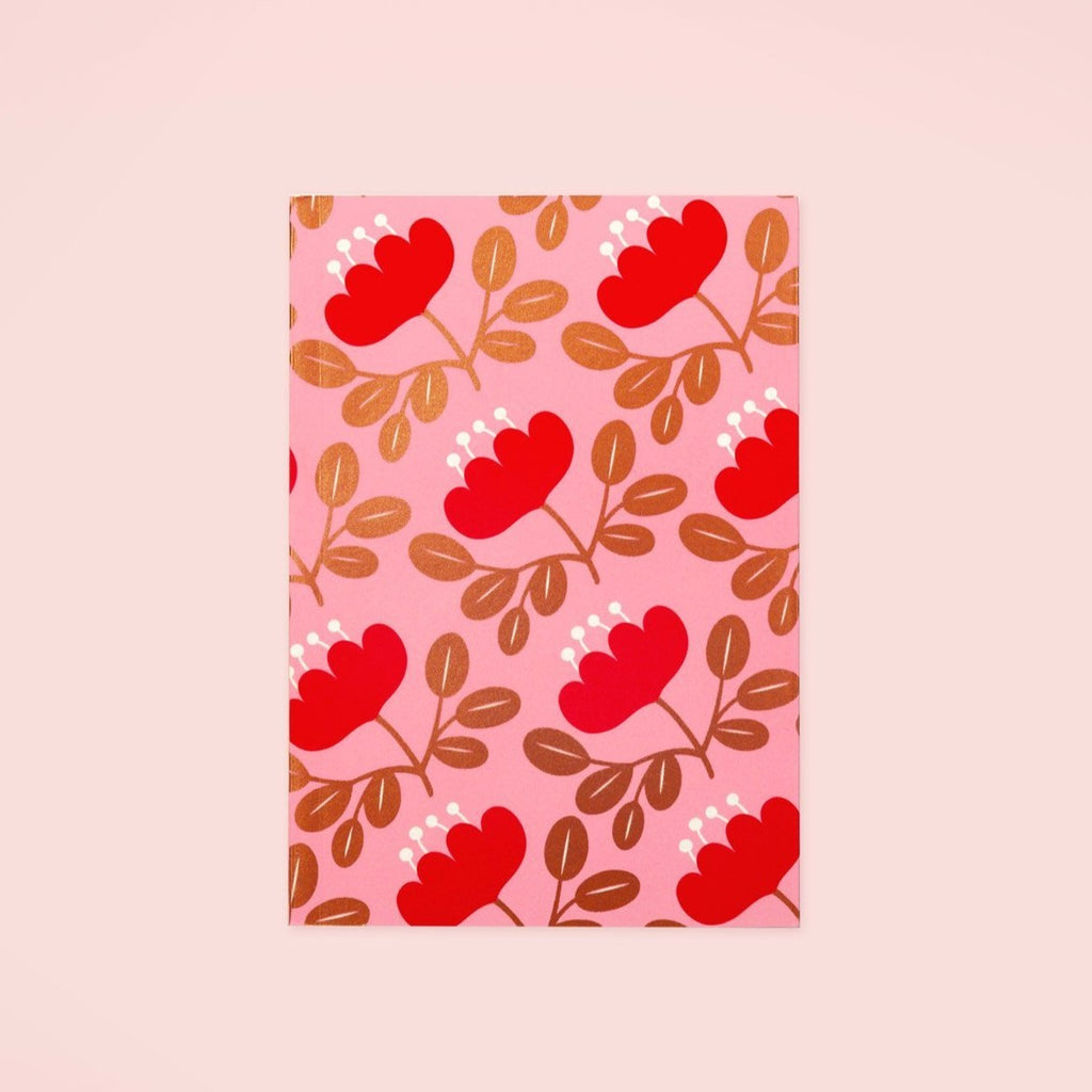 Blossom Gold Planner - Red Petal | Garian