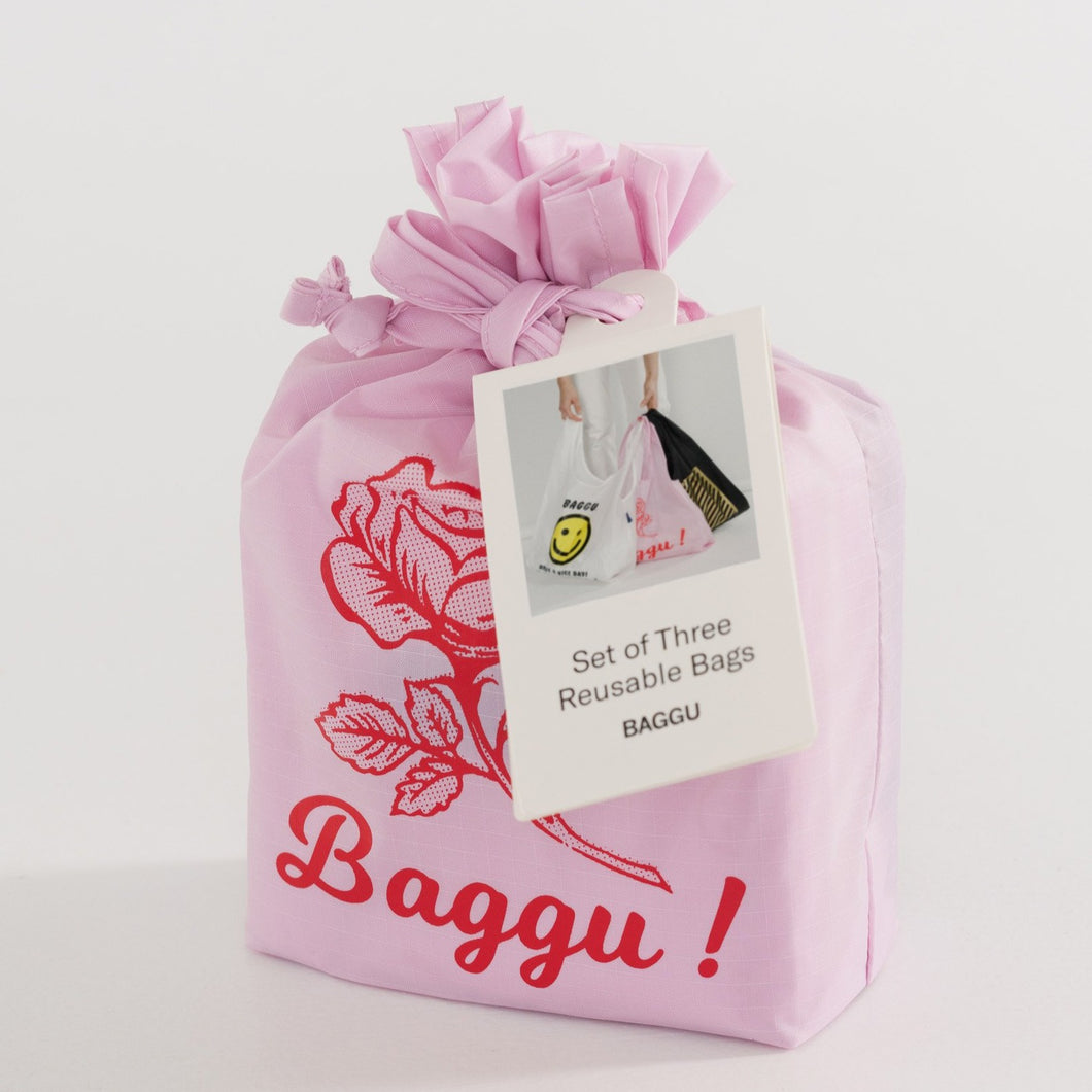 Standard Baggu Set of Three - Thank You | Garian