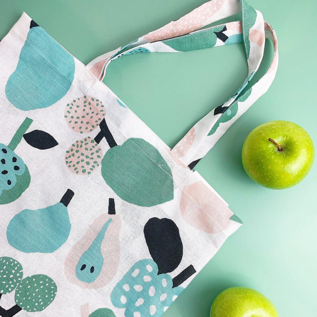 Kauniste Light Green Tutti Frutti Bag | Garian