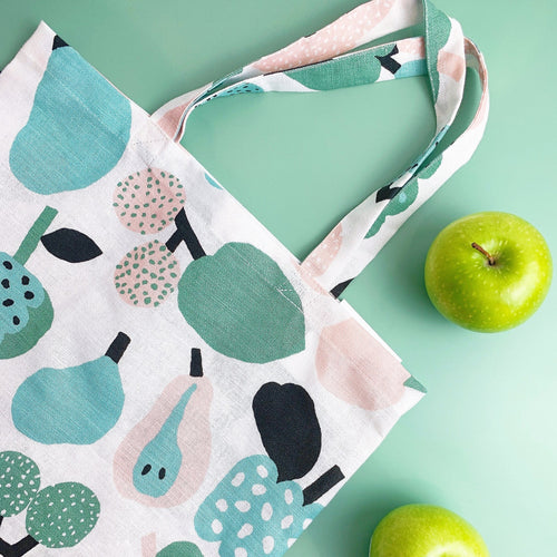 Kauniste Light Green Tutti Frutti Bag