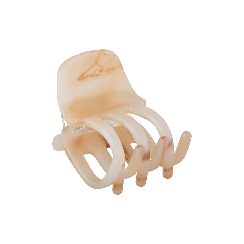 Mini Hair Clip in Peach | Garian