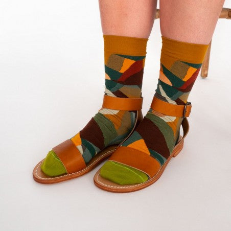 Bonne Maison Socks Multico Mountain | Garian