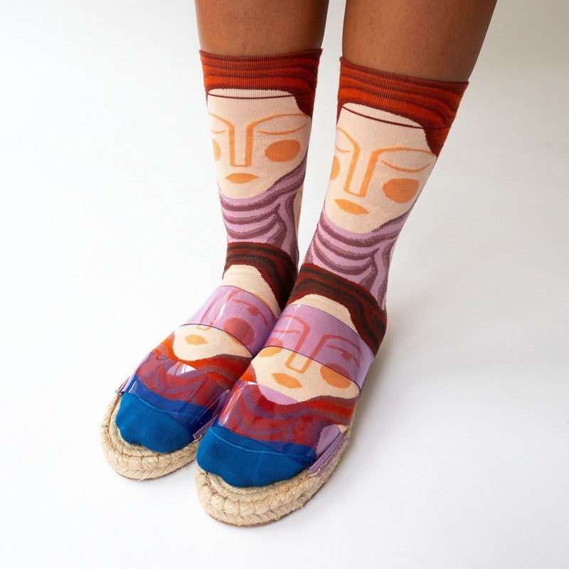Bonne Maison Socks Multico Sleeping | Garian