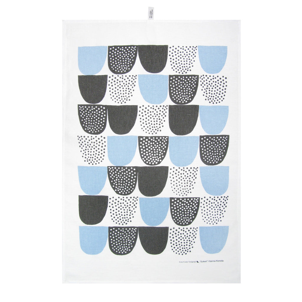 Kauniste Blue Sokeri Kitchen Towel | Garian