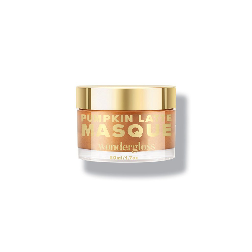 Pumpkin Latte Masque: Facial Peel and Resurfacing Mask - Wondergloss
