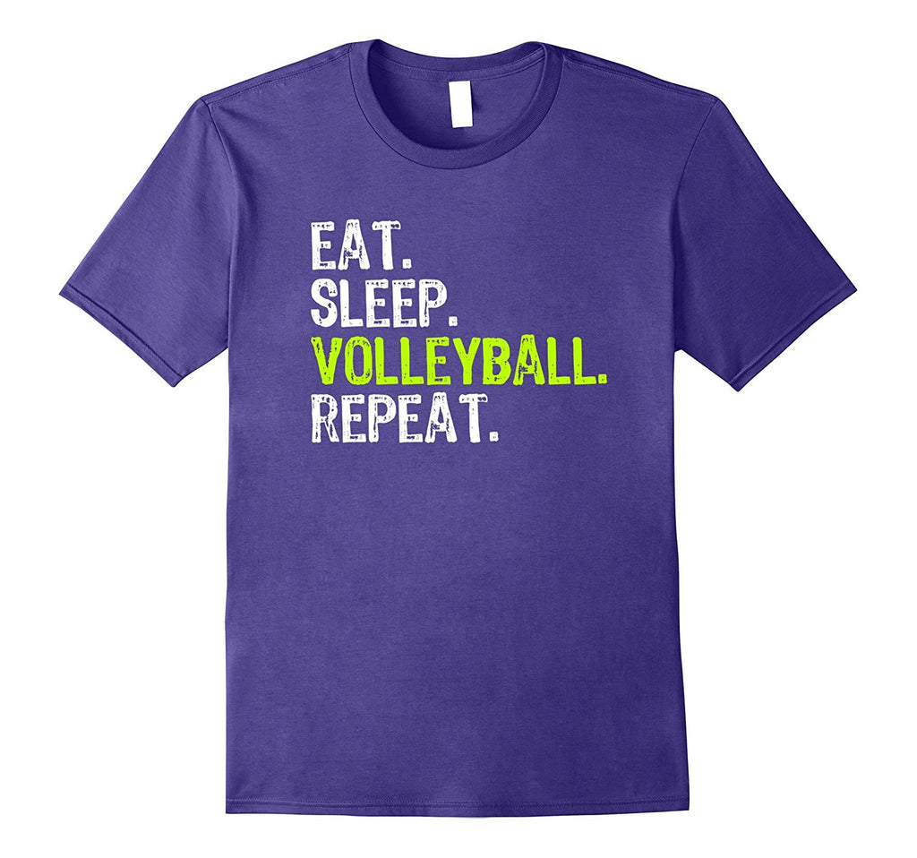 eat sleep volleyball repeat t shirt � trendy tees time